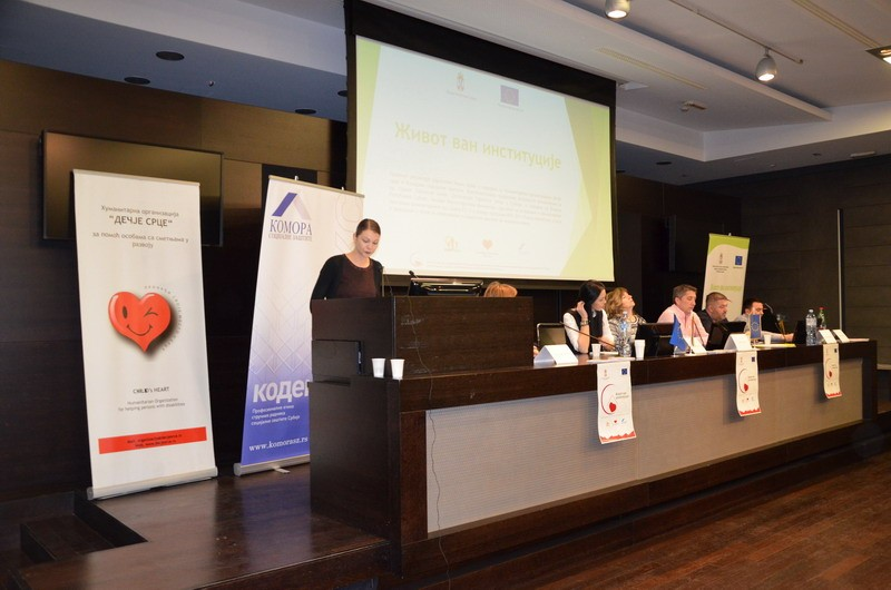 Održana završna konferencija projekta Život van institucije