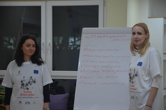"""U okviru projekta """"Mi radimo budućnost gradimo"""" održana su još dva treninga za roditelje"""