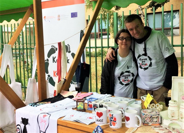 Učestvovali smo na bazaru u Jabuci